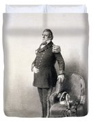 Commodore Matthew Calbraith Perry Duvet Cover by Wilhelm Heine