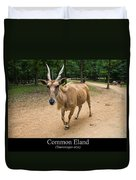 Common Eland Duvet Cover by Chris Flees