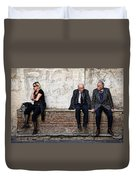 Communication Duvet Cover by Dave Bowman