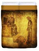 Condemned Via Dolorosa1 Duvet Cover by Lianne Schneider