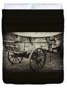 Conestoga Wagon Duvet Cover by Paul W Faust -  Impressions of Light
