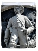 Confederate Soldier II Alabama State Capitol Duvet Cover by Lesa Fine