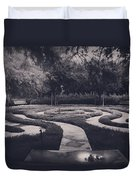 Confusion Duvet Cover by Laurie Search