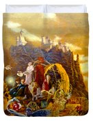 Constructors Of Time Duvet Cover by Henryk Gorecki