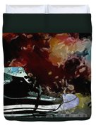 Converse Sports Shoes Duvet Cover by Toppart Sweden