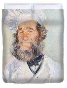 Cook Duvet Cover by Claude Monet