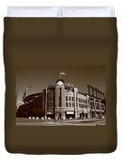 Coors Field - Colorado Rockies 19 Duvet Cover by Frank Romeo