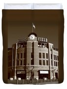 Coors Field - Colorado Rockies 20 Duvet Cover by Frank Romeo