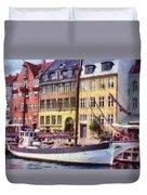 Copenhagen Duvet Cover by Jeff Kolker