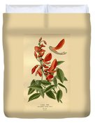 Coral Tree Duvet Cover by Philip Ralley