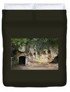 Cornwallis Cave Duvet Cover by Teresa Mucha