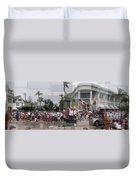 Coronado Fourth Of July Parade Duvet Cover by Stephen Farley
