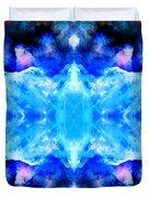 Cosmic Kaleidoscope 1 Duvet Cover by The  Vault - Jennifer Rondinelli Reilly