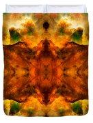 Cosmic Kaleidoscope 2  Duvet Cover by The  Vault - Jennifer Rondinelli Reilly