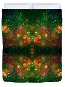 Cosmic Kaleidoscope 3 Duvet Cover by The  Vault - Jennifer Rondinelli Reilly