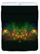 Cosmic Reflection 1 Duvet Cover by The  Vault - Jennifer Rondinelli Reilly