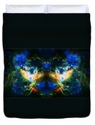 Cosmic Reflection 2 Duvet Cover by The  Vault - Jennifer Rondinelli Reilly