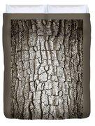 Cottonwood Bark 1 Duvet Cover by Marilyn Hunt