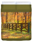 Country Fence Duvet Cover by Geraldine DeBoer