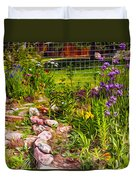 Country Garden Duvet Cover by Omaste Witkowski