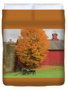 Country Wagon Duvet Cover by Bill Wakeley