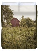 Covered Barn Duvet Cover by Margie Hurwich