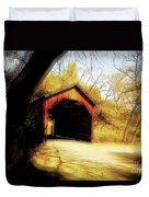 Covered Bridge 2 Duvet Cover by Cheryl Young