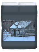 Cozy Hideaway Duvet Cover by Penny Meyers