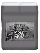 Crab Apples Duvet Cover by Digital Reproductions