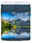Craf Nant Lake Duvet Cover by Adrian Evans