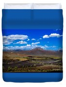Craters Of The Moon Duvet Cover by Robert Bales