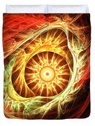 Creation of Sun Duvet Cover by Lourry Legarde