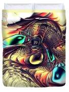 Creature Duvet Cover by Anastasiya Malakhova