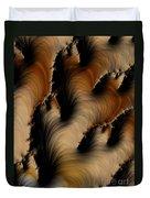 Crevasses  Duvet Cover by Heidi Smith