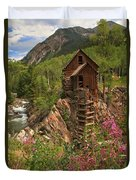 Crystal Mill Wildflowers Duvet Cover by Adam Jewell