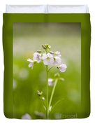 Cuckooflower Duvet Cover by Anne Gilbert
