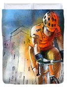Cycloscape 01 Duvet Cover by Miki De Goodaboom