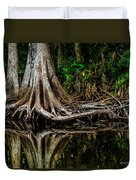 Cypress Roots Duvet Cover by Christopher Holmes