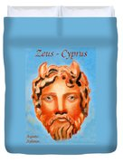 Cyprus - Zeus Duvet Cover by Augusta Stylianou