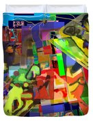 daas 1h Duvet Cover by David Baruch Wolk