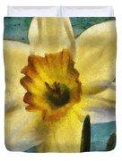 Daffodil Duvet Cover by Jeff Kolker