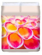 Dahlia Abstract Duvet Cover by Priya Ghose