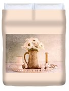 Daisies Duvet Cover by Betty LaRue