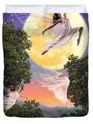 Dance of the Moon Fairy Duvet Cover by Garry Walton
