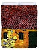 Danish Barn impasto version Duvet Cover by Steve Harrington