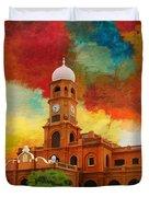 Darbar Mahal Duvet Cover by Catf