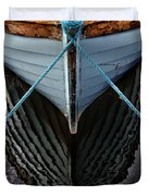 Dark waters Duvet Cover by Stylianos Kleanthous