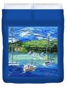 Darling Harbor II Duvet Cover by Jamie Frier
