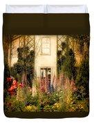 Darwin's Garden Duvet Cover by Jessica Jenney