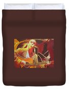 Dave Matthews At Vegoose Duvet Cover by Joshua Morton